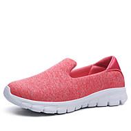 Feminino Sapatos Tule Verão Outono Conforto Tênis para Casual Azul Escuro Cinzento Escuro Cinzento Claro Verde Rosa claro