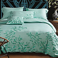 povoljno -Vezeno 4 komada 1pc duvet Cover 2kom Shams 1pc Stan list