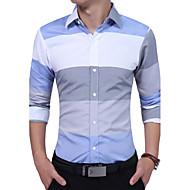 Majica Muškarci - Vintage Prugasti uzorak Color block Pamuk
