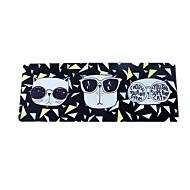 viileä kissa musta hiirimatto vedenpitävä sarjakuva tyyli kangas pelaamista hiirimatto 78cm * 30cm