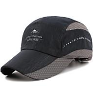 Caps visirer Hatt Unisex Justerbare/Uttrekkbar Justerbar Størrelse Fritid/hverdag til Løper Veisykling Fritidssport Camping Vandring