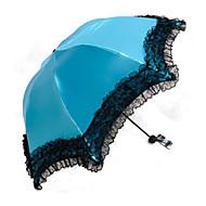 1 pc抗紫外線太陽の傘ユニバーサルレースクリア傘