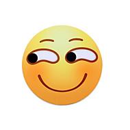 Mr.vivi Sneaky sorriso expressão mouse pad redonda mouse pad pad set 20 * 20cm