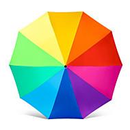 Regenbogen Regenschirm schwarzer Kleber Sonnenschutz Sonnenschutz Sonnenschirm