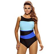 Žene Kupaći kostim Lagani materijali, Pojačana izdržljivost, Rugalmas Tactel Kupaći kostimi Plaža Nosite Kombinezon Plivanje / Ronjenje / Surfanje