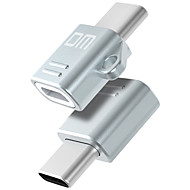 USB 2.0 Type-C Hordozható OTG Adapter Kompatibilitás Samsung Huawei Xiaomi