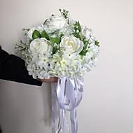 A Romantic White Rose With A Bouquet/Bridal Bouquet/Wedding Bouquet