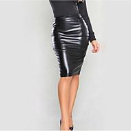 Žene Bodycon Zabava Suknje - Jednobojni