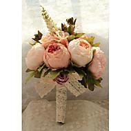 """Cvijeće za vjenčanje Buketi Vjenčanje Taft Šifon Čipka Poliester Organza 11.02 """"(Approx.28cm)"""