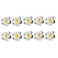 Innfelt lampe Varm hvit Krystall 10 stk.