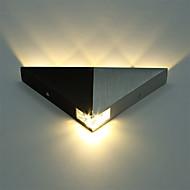 baratos Arandelas de Parede-o triângulo moderno de alumínio 5w conduziu o corredor interno do dispositivo elétrico claro do candelabro de parede da parede acima abaixo da luz do ponto da lâmpada de parede