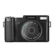 billige Overvåkningskameraer-Andoer r1 1080p 15fps full HD 24mp kamera med digitalkamera videokamera 3.0 roterbart LCD-skjerm anti-shake 4x digital zoom uttrekkbar