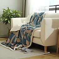 フランネル 縞柄 ウール 毛布