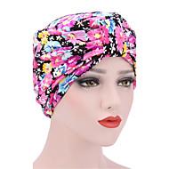 Dame Hat Blomst Blød Hat - Bomuld Blomster Trykt mønster