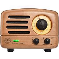 MAO KING MW-2 FM רדיו נייד רדיו FM / רמקול מובנה מקלט העולם חום בהיר