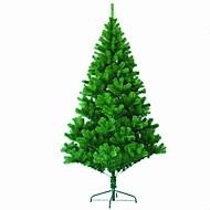1pc de ano novo criptografia de alto grau árvore de Natal 1,5 m / 150 centímetros cheio de agulhas de pinheiro árvore de natal decorado