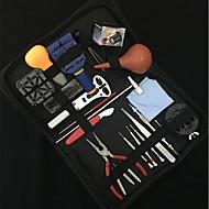 Værktøjstasker Uråbnere Værktøjssæt Reparation af ure Læder Metal Ur Tilbehør 0.815 Høj kvalitet