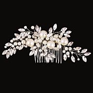 Imitacija bisera / Umjetno drago kamenje / Legura Kose za kosu / Cvijeće s 1 Vjenčanje / Special Occasion / Rođendan Glava