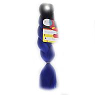 Others Ogroman Ekstenzije za kosu 18Inch Kanekalon Recommended Buy 4 Packs Full Head Nasukati 115g gram Sušilo za pletenice