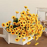 1 haara Keinotekoinen Flowers