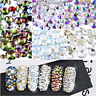 800 Nagelkunst decoratie Strass parels make-up Cosmetische Nagelkunst ontwerp