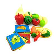 Doen alsof-spelletjes Magnetisch speelgoed Educatief speelgoed Toy Keuken Sets Toy Foods Speeltjes Groente Voedsel friut Kinderen Stuks