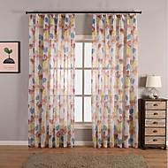 Window Treatment Rustikk , Sommerfugl Stue Materiale Gardiner Skygge Hjem Dekor For Vindu