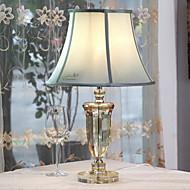 billige Lamper-Tiffany Krystall Bordlampe Til Metall 220-240V Gjennomsiktig