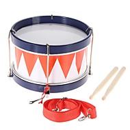Χαμηλού Κόστους Κρουστά μουσικά όργανα-Πολύχρωμα παιδιά παιδί παιδικό τύμπανο μουσικό παιχνίδι κρουστά όργανο με λουριά τύμπανο ραβδί