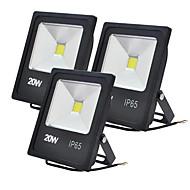 baratos Focos-JIAWEN 20W Focos de LED Decorativa Branco Quente / Branco Frio 85-265V Iluminação Externa / Garagem