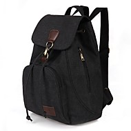 Women's Bags Canvas Backpack for Outdoor / Traveling Blue / Black / Coffee