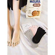 Summer Toe Socks With Five Fingers Women  Short Invisible Sock Slippers
