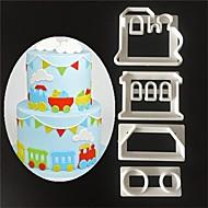 1pc Noviteti Uporaba Plastika Visoka kvaliteta Torte za kalupe
