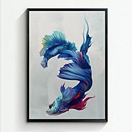 abstrakt Innrammet Oljemaleri Veggkunst,Polystyrene Materiale med ramme For Hjem Dekor Rammekunst Stue Spisestue