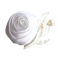 "Wedding Flowers Boutonnieres Wedding Organza Satin 1.97""(Approx.5cm)"