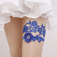 Elastic Wedding Garter with Flower(s) Wedding AccessoriesClassic Elegant Style