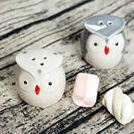 2 stk / sæt - kærlighed fugle salt og peber shakers bryllup favoreer bedre gaver ® dør gaver