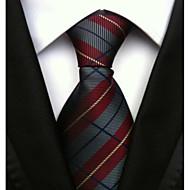 billige Tilbehør til herrer-Herre Kontor / Grunnleggende Slips Stripet