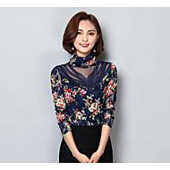 Bluza Žene Cvjetni print Dolčevita Poliester