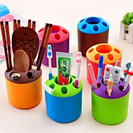 Toothbrush Holders,Műanyag Desktop Organizer