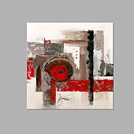 Handgeschilderde Abstract Artistiek Eén paneel Canvas Hang-geschilderd olieverfschilderij For Huisdecoratie