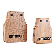 Büyük ammoon&El tipi perküsyon için orta boy 2adet cajon kutu davulu eşlik aksesuar castanets