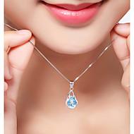 Žene Luksuz Boemski stil Sintetički dijamant Umjetno drago kamenje Plastika Zircon Ogrlice s privjeskom - Luksuz Klasik Boemski stil