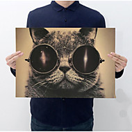 stěna dekorace papír materiál zvíře téma současná stěna umění plakát