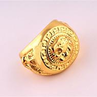 Muškarci Prsten Zlato Pozlata od crvenog zlata Legura Jedinstven dizajn Punk Rođendan Poslovanje Dar Dnevno Ured i karijera Nakit odjeće