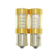 sencart 2pcs 1156 ba15s p21w点滅電球LEDバックライト電球ランプ(白/赤/青/暖かい白)(DC / AC9-16V)