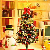olcso -1 db új év karácsonyfa 150cm / 1,5 meakin terhelt luxus hotel díszített karácsonyfa és dekoratív karácsonyi dísz