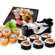 cheap -DIY Convenient Easy Sushi Maker Machine Plastic Roller Equipment