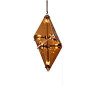 cheap Pendant Lights-Modern/Contemporary Crystal Pendant Light Ambient Light For Bedroom Dining Room Shops/Cafes Warm White 1600lm 110-120V 220-240V Bulb