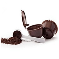 3pcs / pak gebruik 150 keer navulbare dolce gusto koffie capsule Nescafe Dolce Gusto herbruikbare capsule dolce gusto